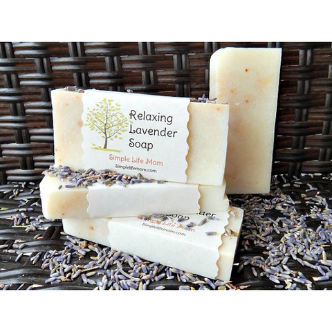 Simple Life Mom - Relaxing Lavender Soap 4 oz.
