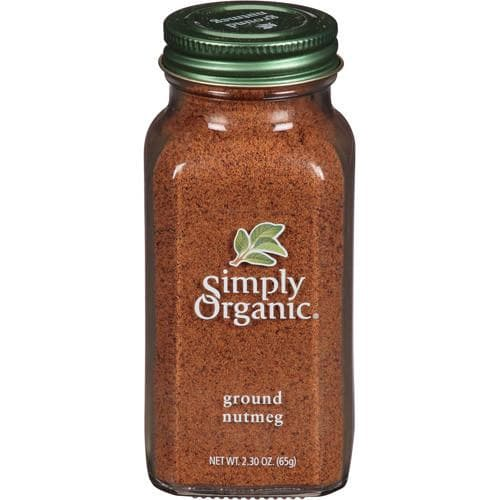 Simply Organic - Ground Nutmeg (Organic) 2.31 oz.