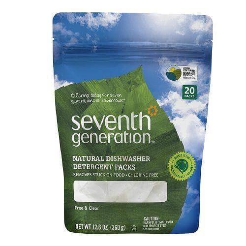 Seventh Generation Natural Dishwashing Detergent Packs