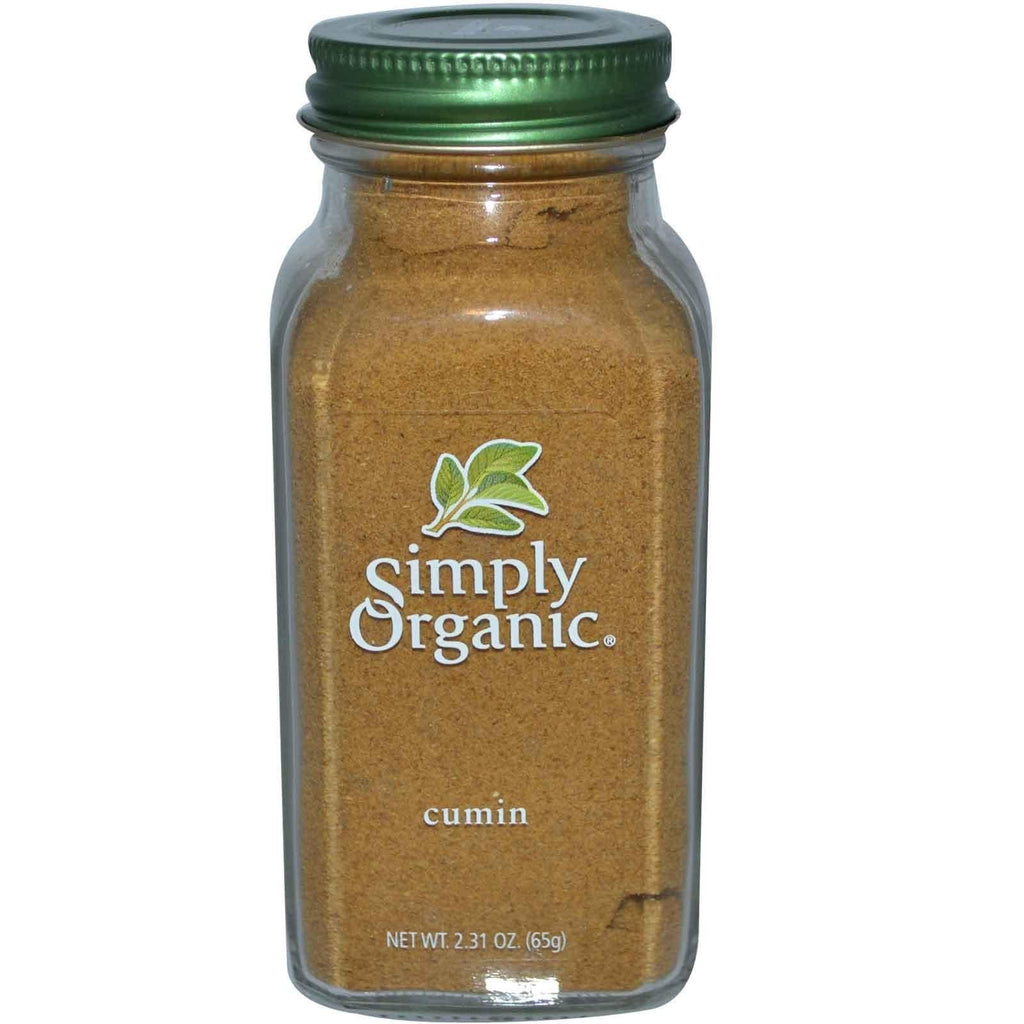 Simply Organic - Cumin Seed Ground (Organic) 2.31 oz.