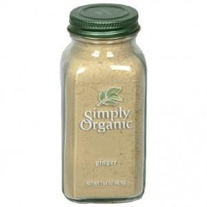 Simply Organic - Ground Ginger (Organic) 2.31 oz.