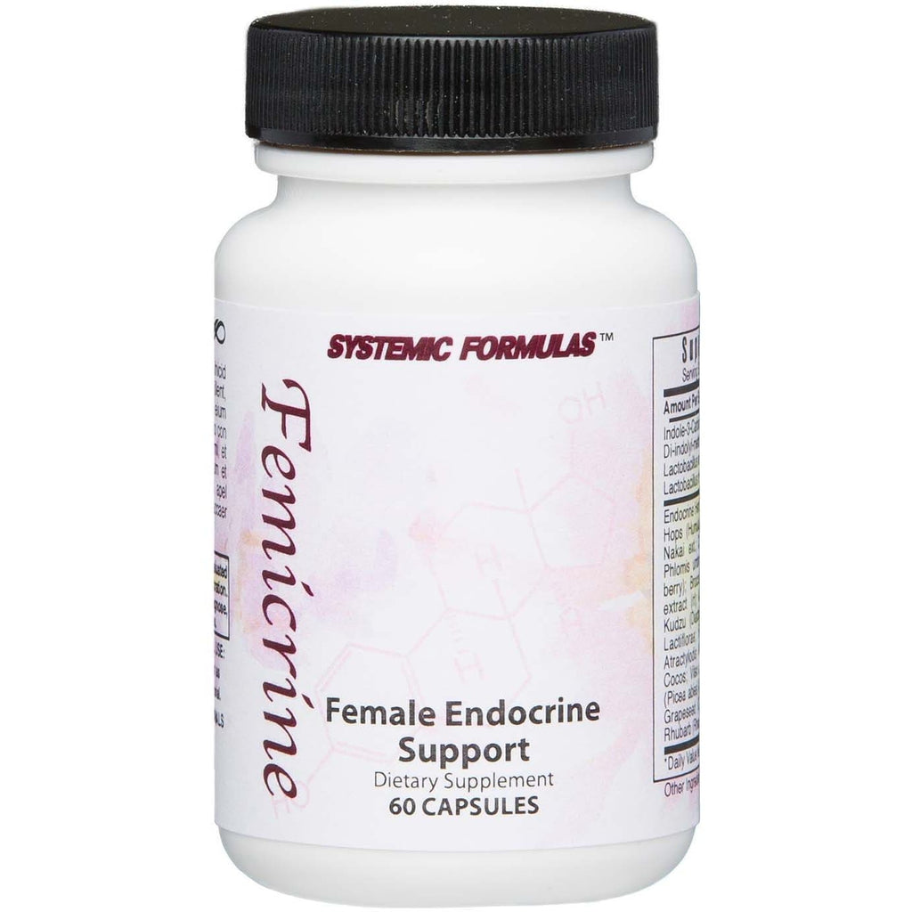 Systemic Formulas: #843 - FEMICRINE - FEMALE ENDOCRINE SUPPORT