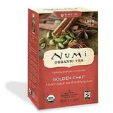 Numi - Golden Chai - 18 Tea Bags
