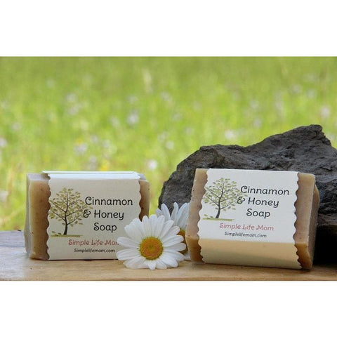 Simple Life Mom - Cinnamon and Honey Soap 4oz.