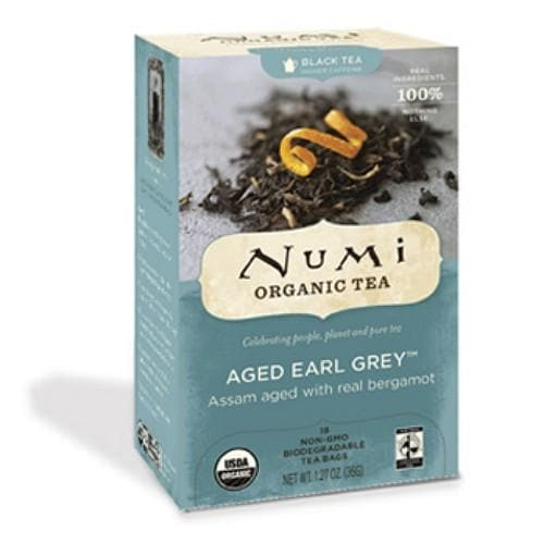 Numi - Aged Earl Grey - 18 Tea Bags - OUT OF STOCK