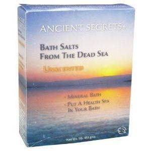 Ancient Secrets - Bath Salts From the Dead Sea - Unscented 1lb