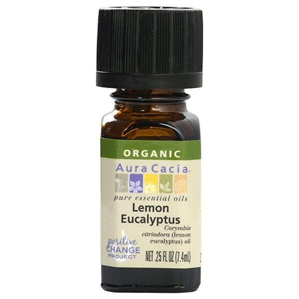 Lemon Eucalyptus Essential Oil Organic - 0.25 oz.