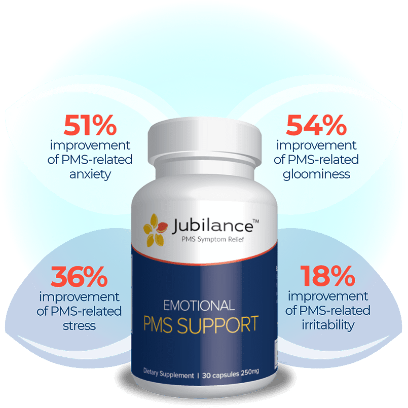 Jubilance - 30 capsules 250mg - PMS SUPPORT