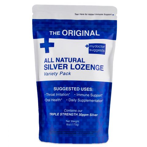 MDS - Silver Lozenges, Variety Pack, 40 Count