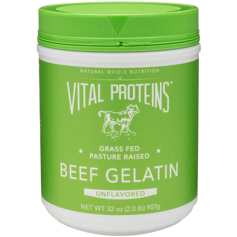 Vital Proteins Collagen Protein - Beef Gelatin 32 oz.
