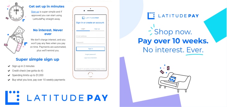 How does it all work review - Latitudepay is now available at Clothing Bargains Australia