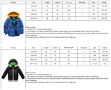 High quality 4-10Yrs Boys coats winter blue Jacket kids Casual Boys thick Winter jacket Christmas Boy Winter Coat - CelebritystyleFashion.com.au online clothing shop australia