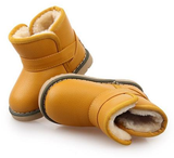 Waterproof Children Boots Winter Baby Shoes Girls Cotton - Padded Shoes Ankle Boys Boots