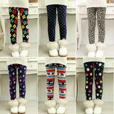 winter girls leggings Children's 3-9 Y Warm Pant All-Match Fleece thickening Leggings Children's Thick Pants - CelebritystyleFashion.com.au online clothing shop australia