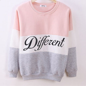 Women fleece hoodies printed letters Different women's casual sweatshirt hoody sudaderas EPHO80027 - CelebritystyleFashion.com.au online clothing shop australia