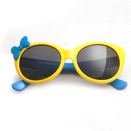 yellow frameOTO Kids Polarized Sunglasses Baby Children TR90 Frame UV400 Protection Sun Glasses Boy Girls Cool Goggles With Gift Car Case