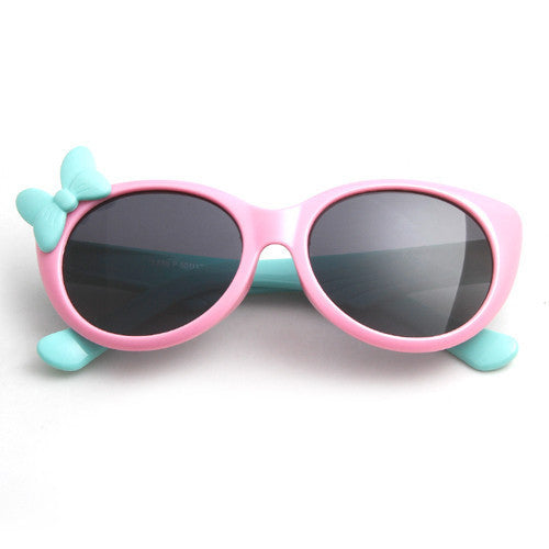 pink frameOTO Kids Polarized Sunglasses Baby Children TR90 Frame UV400 Protection Sun Glasses Boy Girls Cool Goggles With Gift Car Case