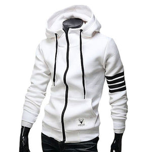 Fashion Men Hoodies Brand Leisure Suit High Quality Men Sweatshirt Hoodie Casual Zipper Hooded Jackets Male M-3XL - CelebritystyleFashion.com.au online clothing shop australia