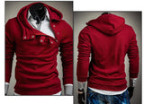 Hoodies Men Hip Hop Mens Brand 7 Color Stitching Hedging Hoodie Sweatshirt Suit Slim Fit Men Hoody - CelebritystyleFashion.com.au online clothing shop australia