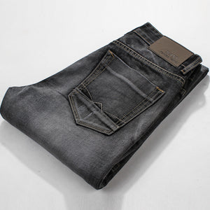 Famous Spring Summer Retro Nostalgia Straight Denim Jeans Men Plus Size 28-38 Casual Men Long Pants Trousers Brand Biker Jean - CelebritystyleFashion.com.au online clothing shop australia