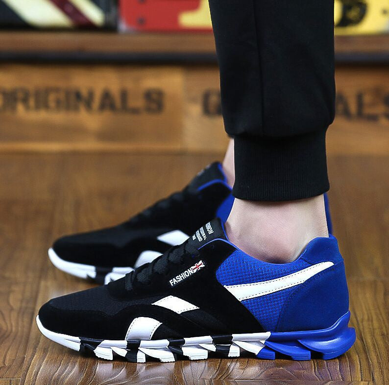 05 / 7Fashion Men Casual Shoes Spring Autumn Mens Trainers Breathable Flats Walking Shoes