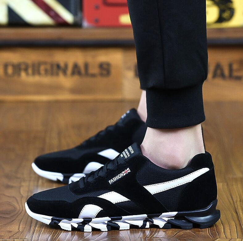 06 / 7Fashion Men Casual Shoes Spring Autumn Mens Trainers Breathable Flats Walking Shoes
