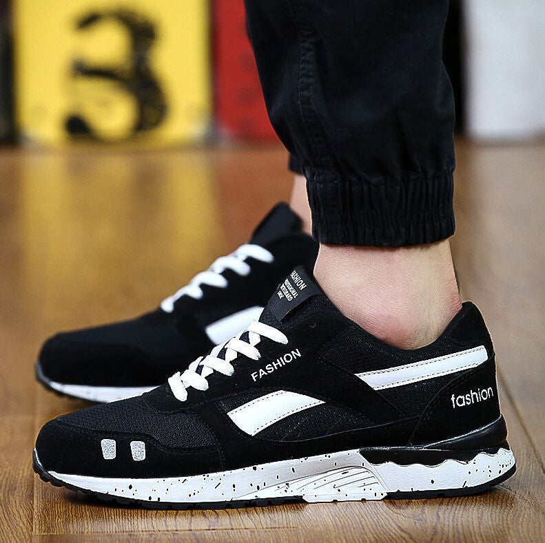 Fashion Men Casual Shoes Spring Autumn Mens Trainers Breathable Flats Walking Shoes zapatillas hombre Free Shipping17CELEBRITYSTYLEFASHION