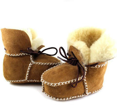 Winter genuine leather baby boy snow boots for girl Newborn warm shoes infant toddler soft sole First Walkers booties brand - CelebritystyleFashion.com.au online clothing shop australia