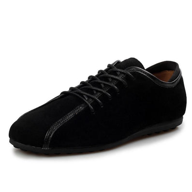 Aleader Nubuck Leather Men Shoes Spring Male Casual Shoes New 2015 Fashion Leather Shoes Loafers Men's shoes Flats zapatillas - CelebritystyleFashion.com.au online clothing shop australia