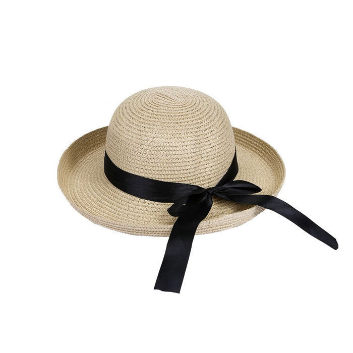 d35418649f1 New Fashion Summer Casual Women Ladies Wide Brim Beach Sun Hat Elegant  Straw Floppy Bohemia Cap