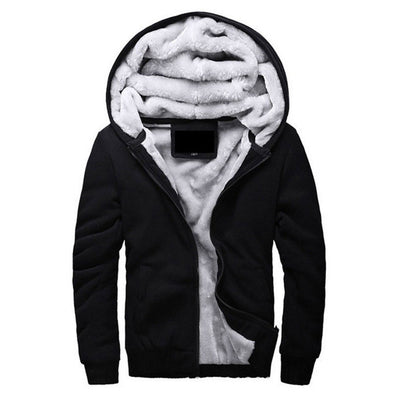 Brand Clothing Mens Hooded Hoodies Men Sweatshirt Fashion Hoody Thick Warm Hoodie Cotton Slim Male Coat Outerwear Plus Size - CelebritystyleFashion.com.au online clothing shop australia