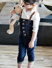 Children Wear Baby Clothes Children Overalls Pants Popular Girls Jeans Pants Kids Trousers - CelebritystyleFashion.com.au online clothing shop australia