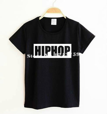 New Kids t shirt HIPHOP Letter Print Boy Girl tshirt Funny Shirt For Children Top Tee Black White TZ205-967 - CelebritystyleFashion.com.au online clothing shop australia