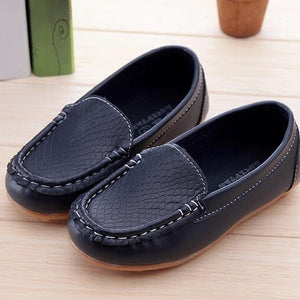 Boys Girls Leather Shoes Baby Moccasins kids Shoes Loafers Sneakers Fashion Children Shoes For soft bottom Boys X189 - CelebritystyleFashion.com.au online clothing shop australia