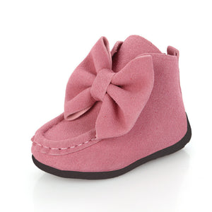 fashion children boots big butterfly knot leather sneakers girls dancing boots kids princess shoes - CelebritystyleFashion.com.au online clothing shop australia