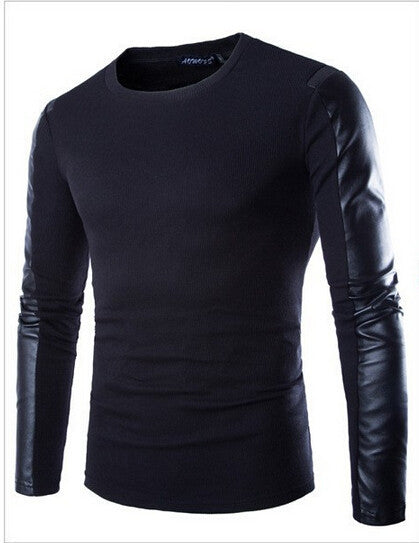 Black / XLHigh quality Brands New Winter Men's O-Neck Sweater Jumpers pullover sweater men brand