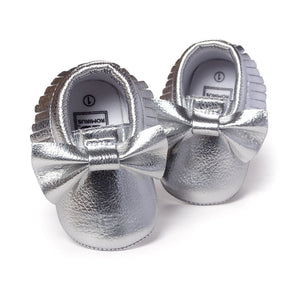 Handmade Soft Bottom Fashion Tassels Baby Moccasin Newborn Babies Shoes 19-colors PU leather Prewalkers Boots - CelebritystyleFashion.com.au online clothing shop australia