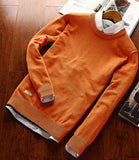 Men Classical Polo Sweater Man Causal Brand Long Sleeve Cotton O Neck Spring Autumn Winter Pullovers Plus Size Knitwear - CelebritystyleFashion.com.au online clothing shop australia