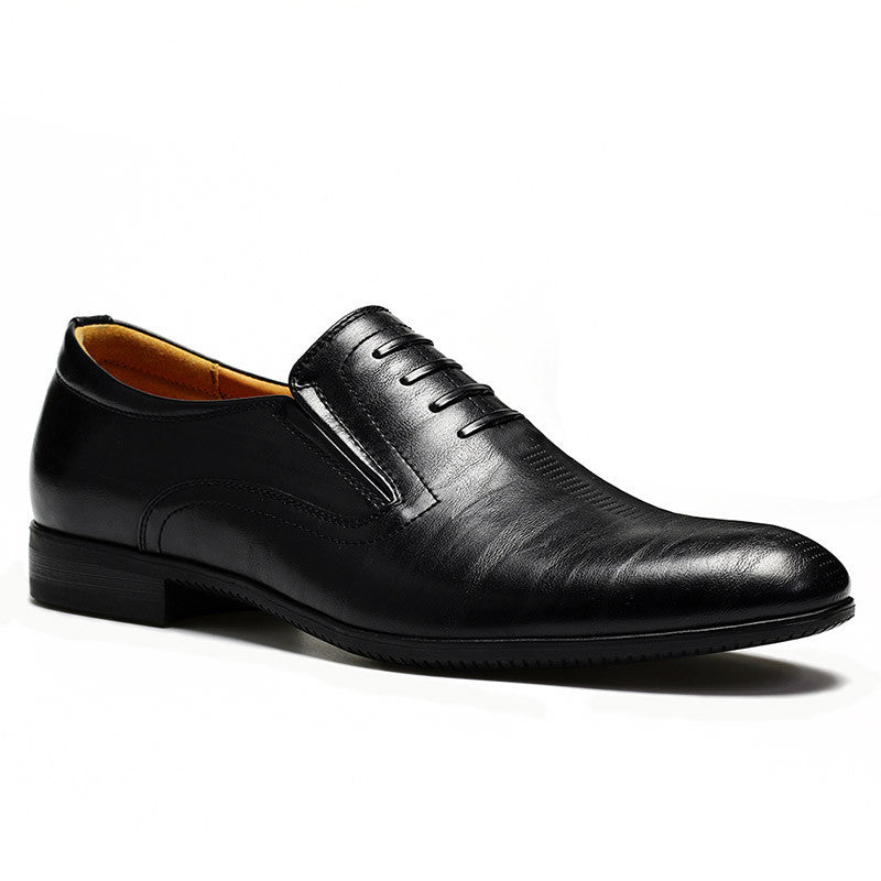 Black / 7.539-44 men oxfords Top quality handsome comfortable Z6 brand men wedding shoes #W382