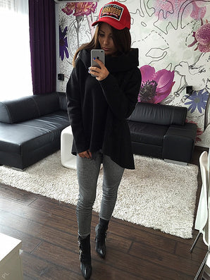 S-XL Christmas clothes New Arrival Women Winter Hoodies Scarf Collar Long Sleeve Fashion Casual Style Autumn Sweatshirts - CelebritystyleFashion.com.au online clothing shop australia