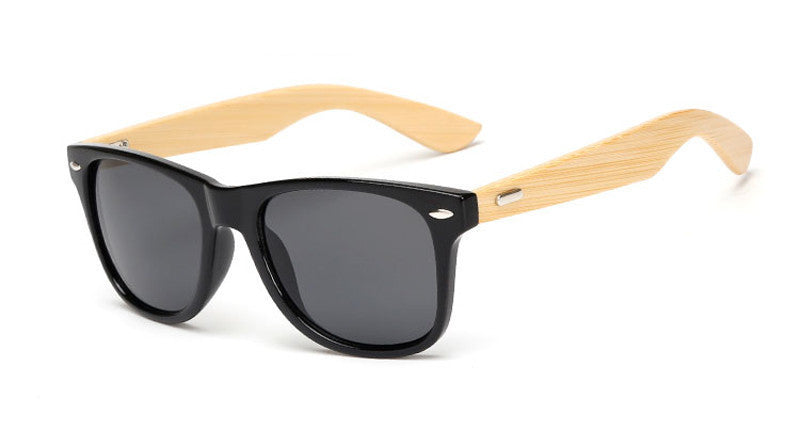 wood KP1501 C116 color Wood Sunglasses Men women square bamboo Women for women men Mirror Sun Glasses Handmade