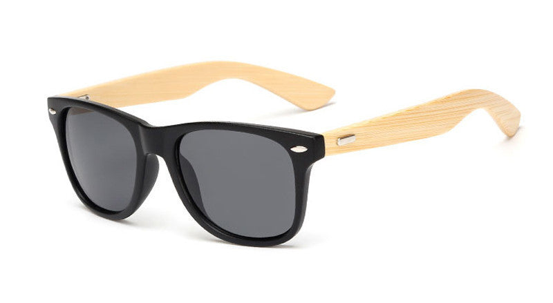 wood KP1501 C216 color Wood Sunglasses Men women square bamboo Women for women men Mirror Sun Glasses Handmade
