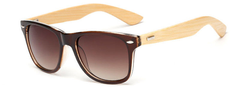 wood KP1501 C316 color Wood Sunglasses Men women square bamboo Women for women men Mirror Sun Glasses Handmade