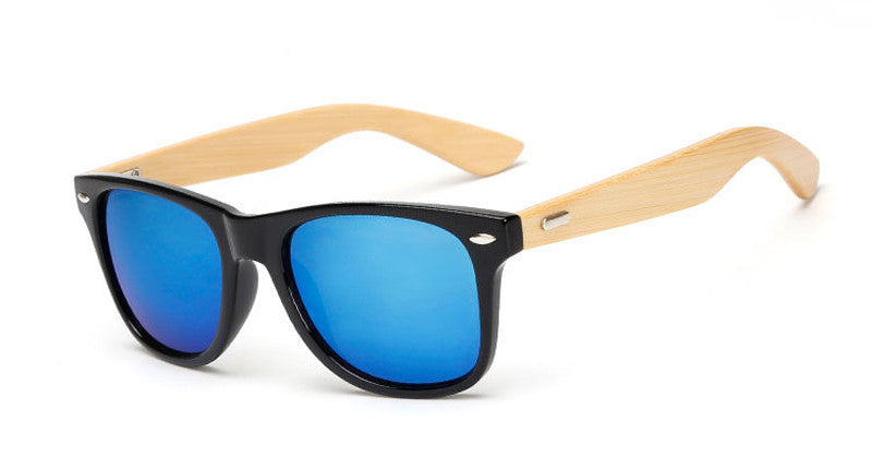 wood KP1501 C616 color Wood Sunglasses Men women square bamboo Women for women men Mirror Sun Glasses Handmade