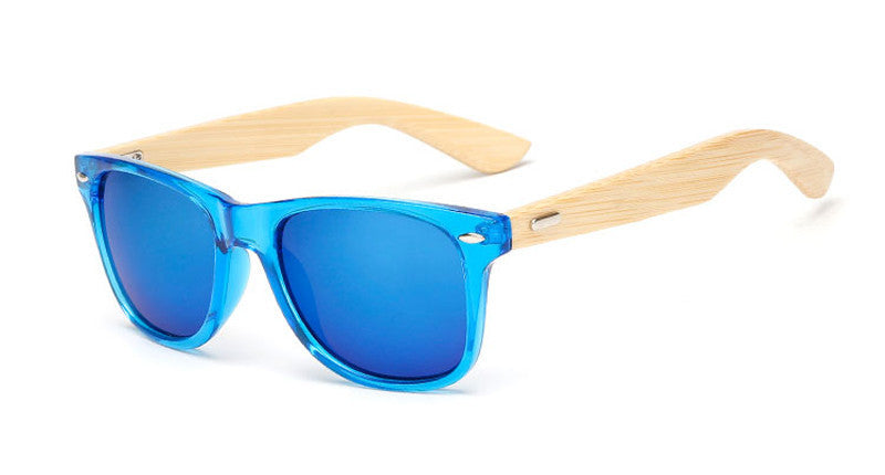 wood KP1501 C1116 color Wood Sunglasses Men women square bamboo Women for women men Mirror Sun Glasses Handmade