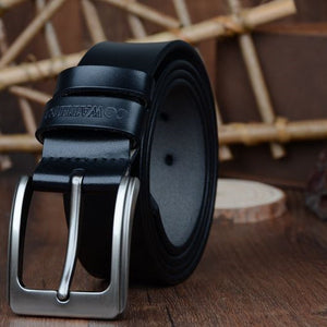 100% cowhide genuine leather belts for men brand Strap male pin buckle fancy vintage jeans - CelebritystyleFashion.com.au online clothing shop australia