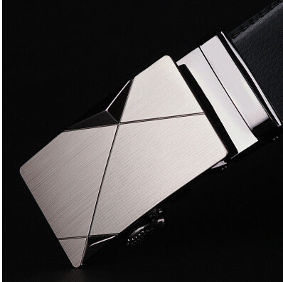 Belt men automatic buckle brand designer leather belts for business men which high quality and luxury for man - CelebritystyleFashion.com.au online clothing shop australia