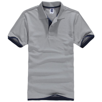 Brand New Men's Polo Shirt For Men Designl Polos Men Cotton Short Sleeve shirt polo jerseys sportsgolftennis Plus size XXL XXXL - CelebritystyleFashion.com.au online clothing shop australia