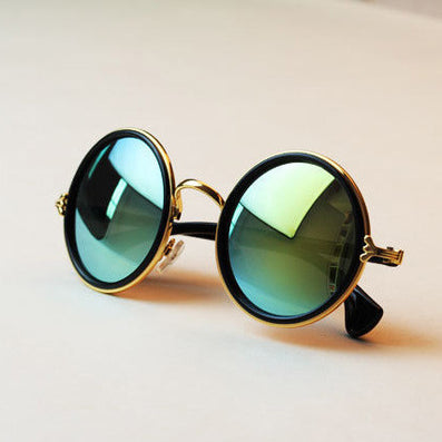 Fashion glasses Women men Fashion retro roundness colours Sunglasses summer 7 colors glasses - CelebritystyleFashion.com.au online clothing shop australia