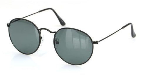 Women Retro Round Alloy Frame Sunglasses Brand Designer Women Round Sunglasses Polarizes - CelebritystyleFashion.com.au online clothing shop australia